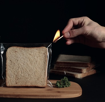 TOTOGO - Toast that needs no toaster