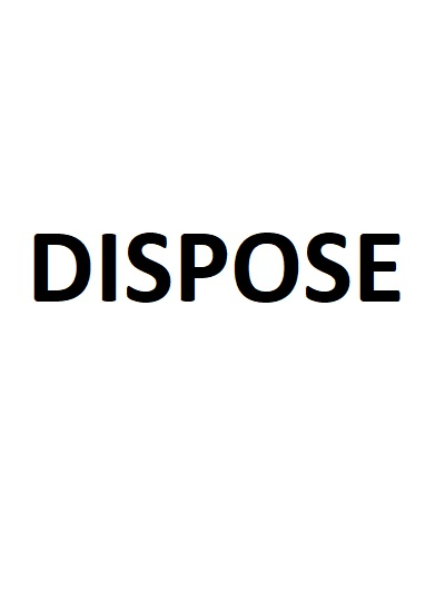Dispose Intro