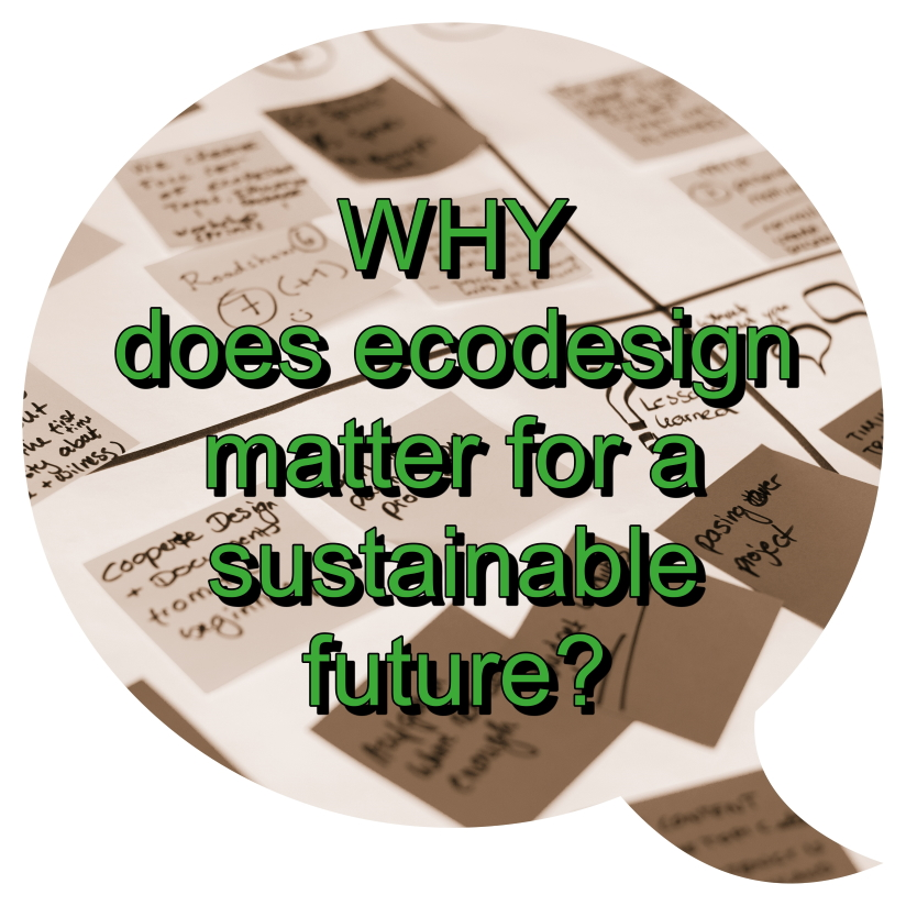 Why does ecodesign matter for a sustainable future?