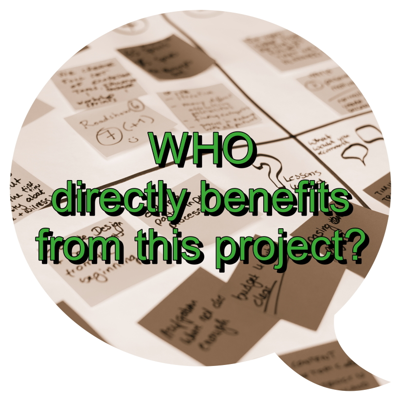 Who directly benefits from this project?