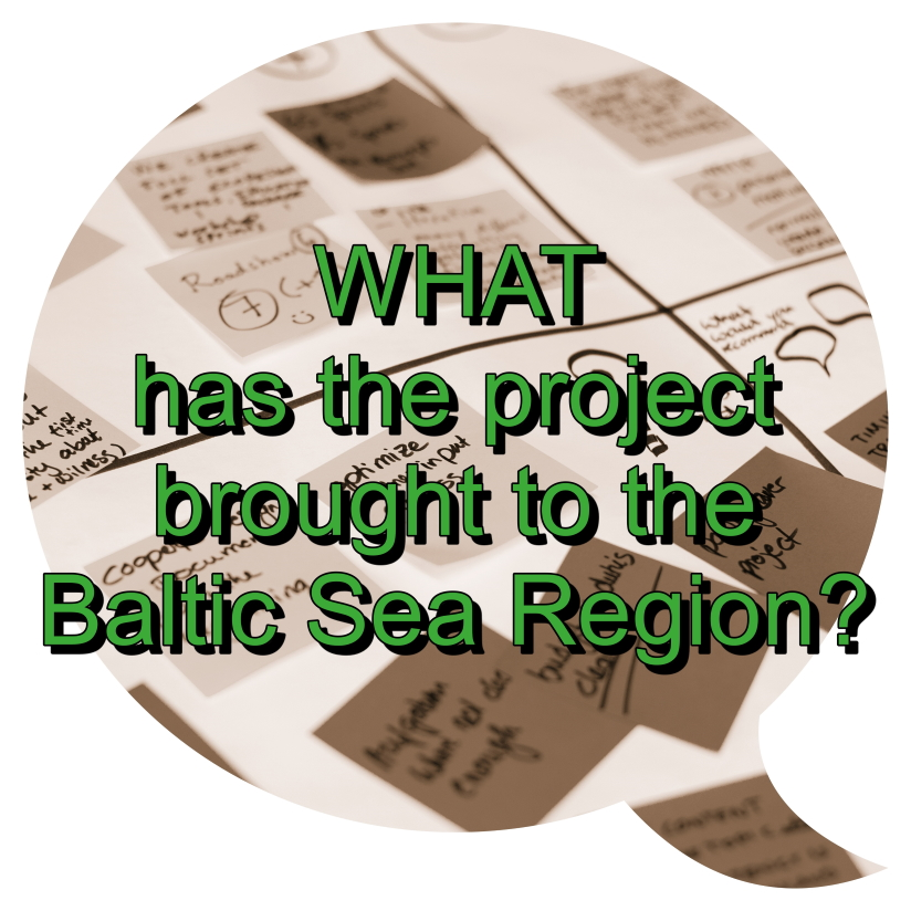 What has the project brought to the Baltic Sea Region?